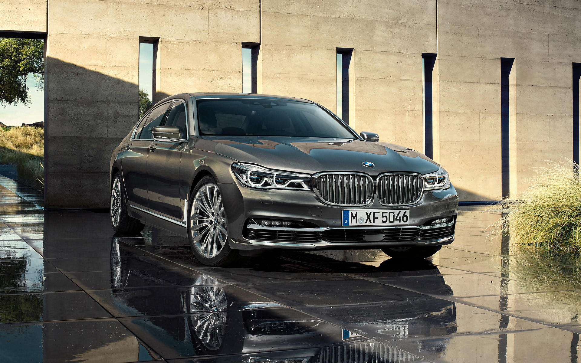 Bmw 7 Series 2016 Hd Wallpapers Free Download