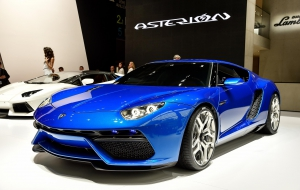 Lamborghini Asterion LPI 910-4 background
