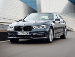 BMW 7 Series 2016 background
