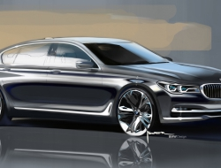 BMW 7 Series 2016 desktop wallpaper