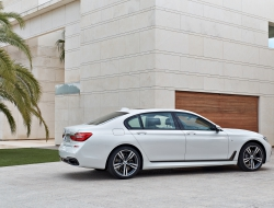 BMW 7 Series 2016 wallpaper desktop