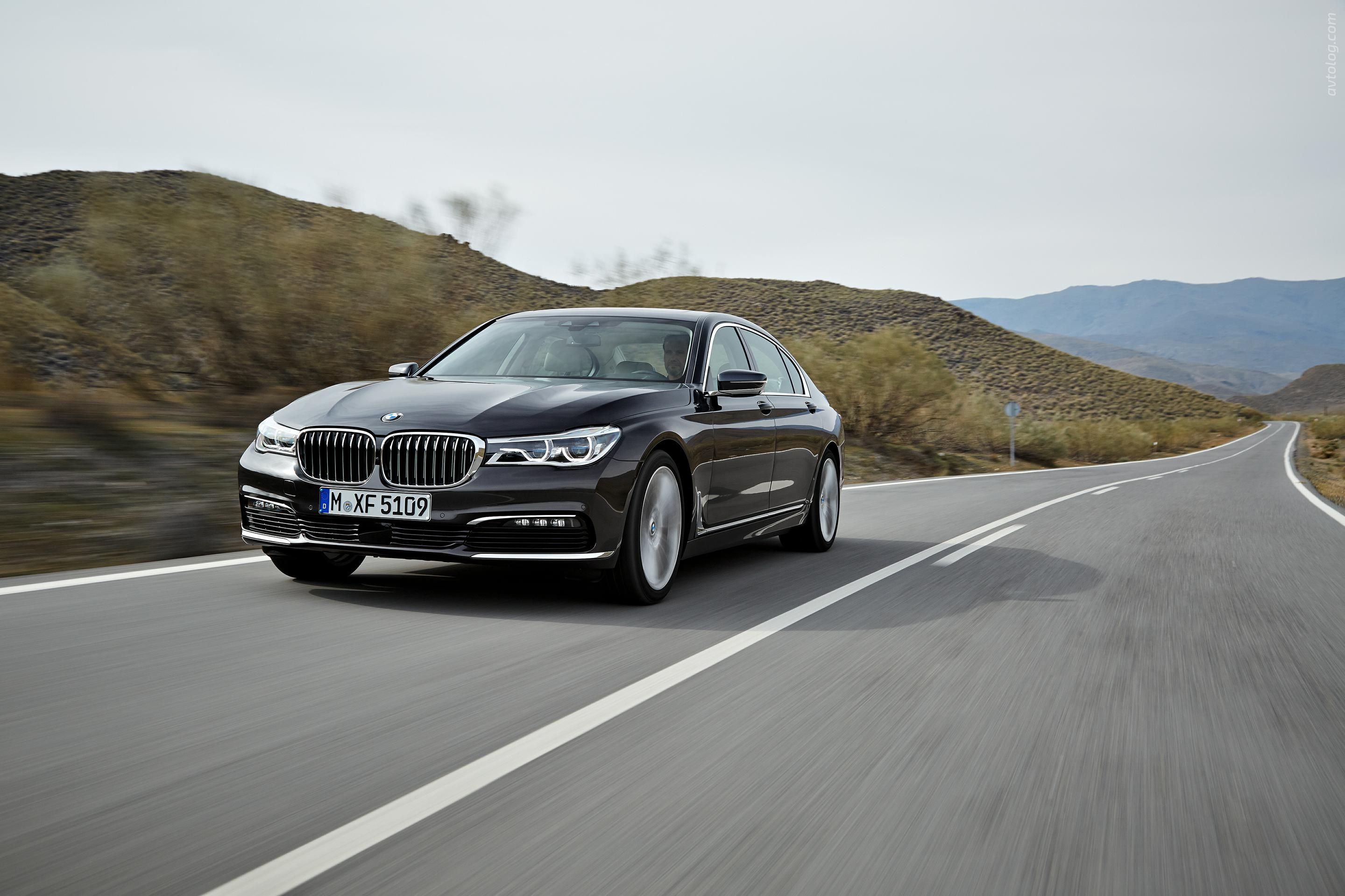 BMW 7 Series 2016 New Wallpapers