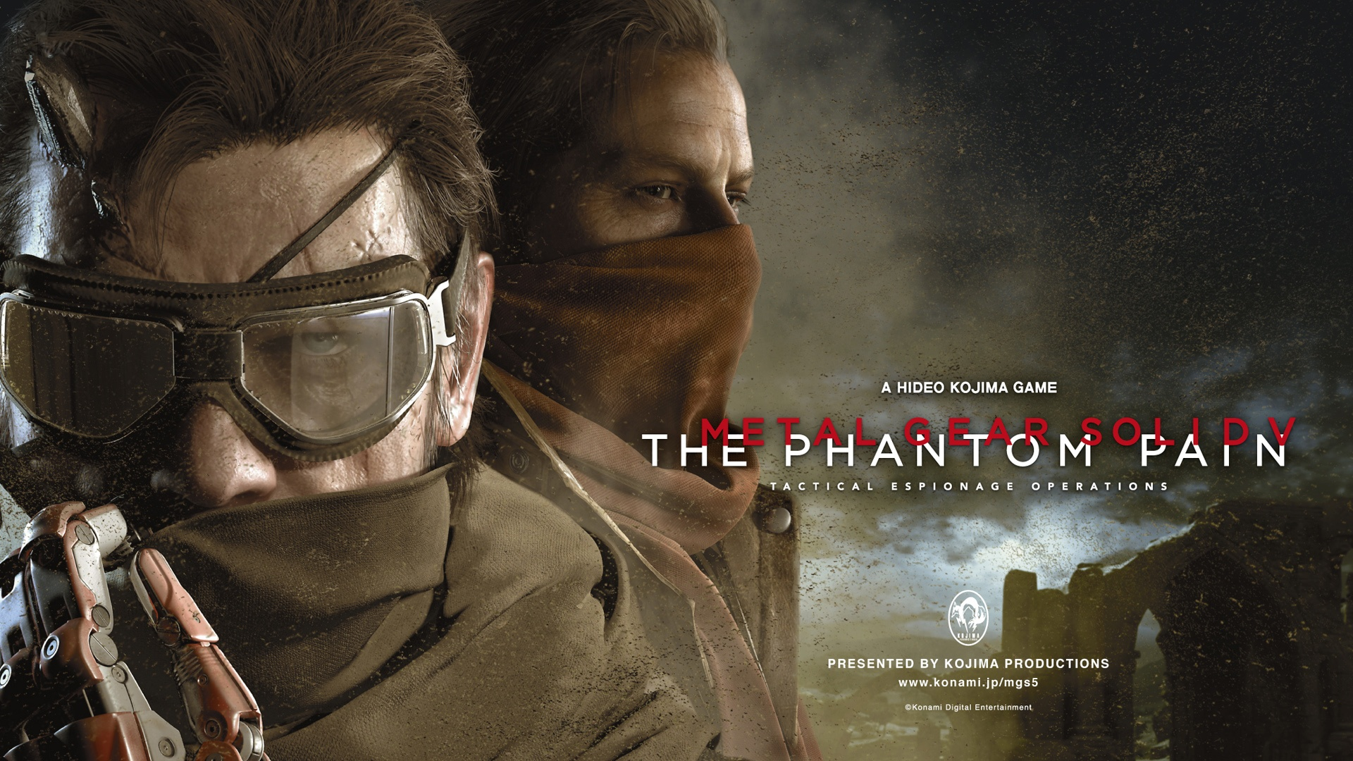 Metal Gear Solid V: The Phantom Pain download wallpaper