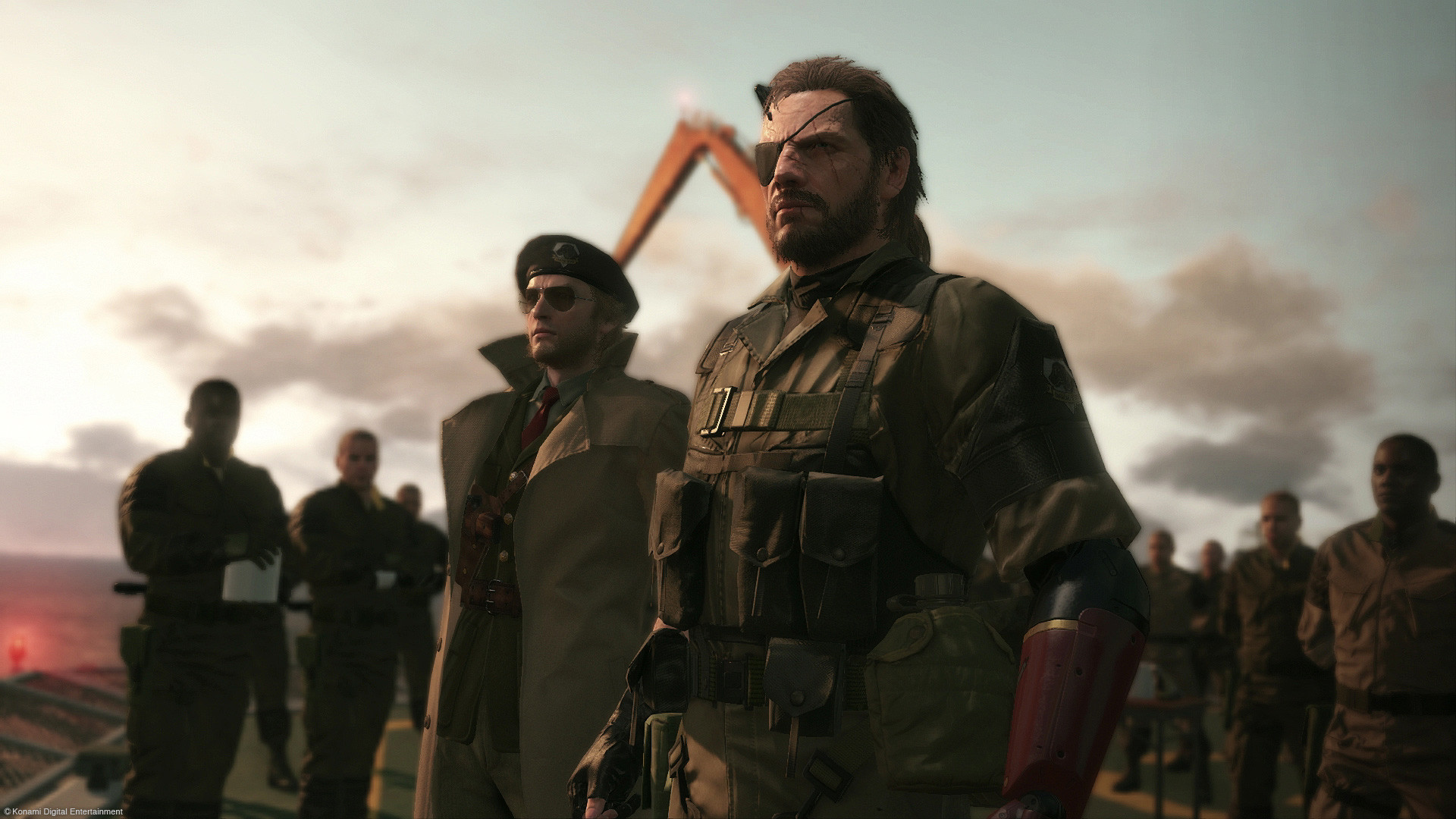 Metal Gear Solid V: The Phantom Pain hd desktop