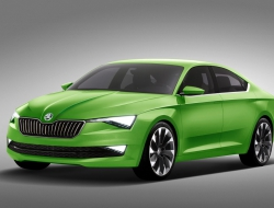 Skoda Vision C background