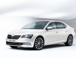 Skoda Superb 2015 background