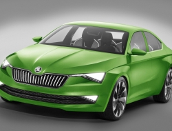 Skoda Vision C desktop wallpaper
