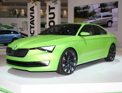 Skoda Vision C hd wallpaper