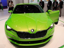 Skoda Vision C high quality wallpapers