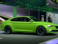 Skoda Vision C hd background