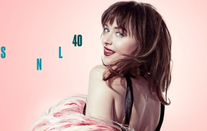 Dakota Johnson widescreen
