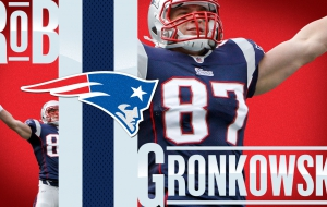 Rob Gronkowski download free backgrounds HD