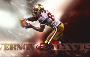 Vernon Davis hd background