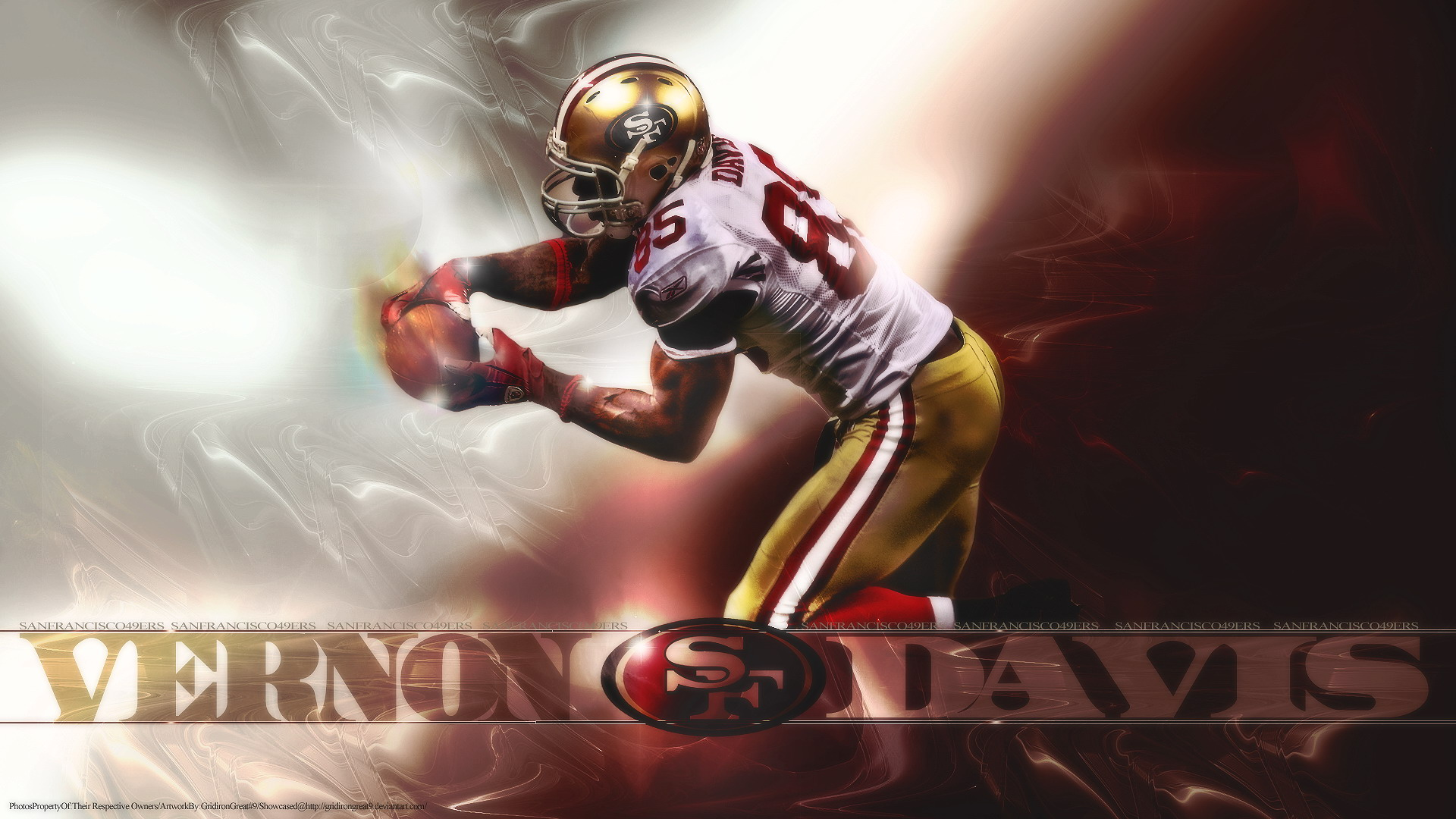Vernon Davis Full HD High Quality Wallpapers Free