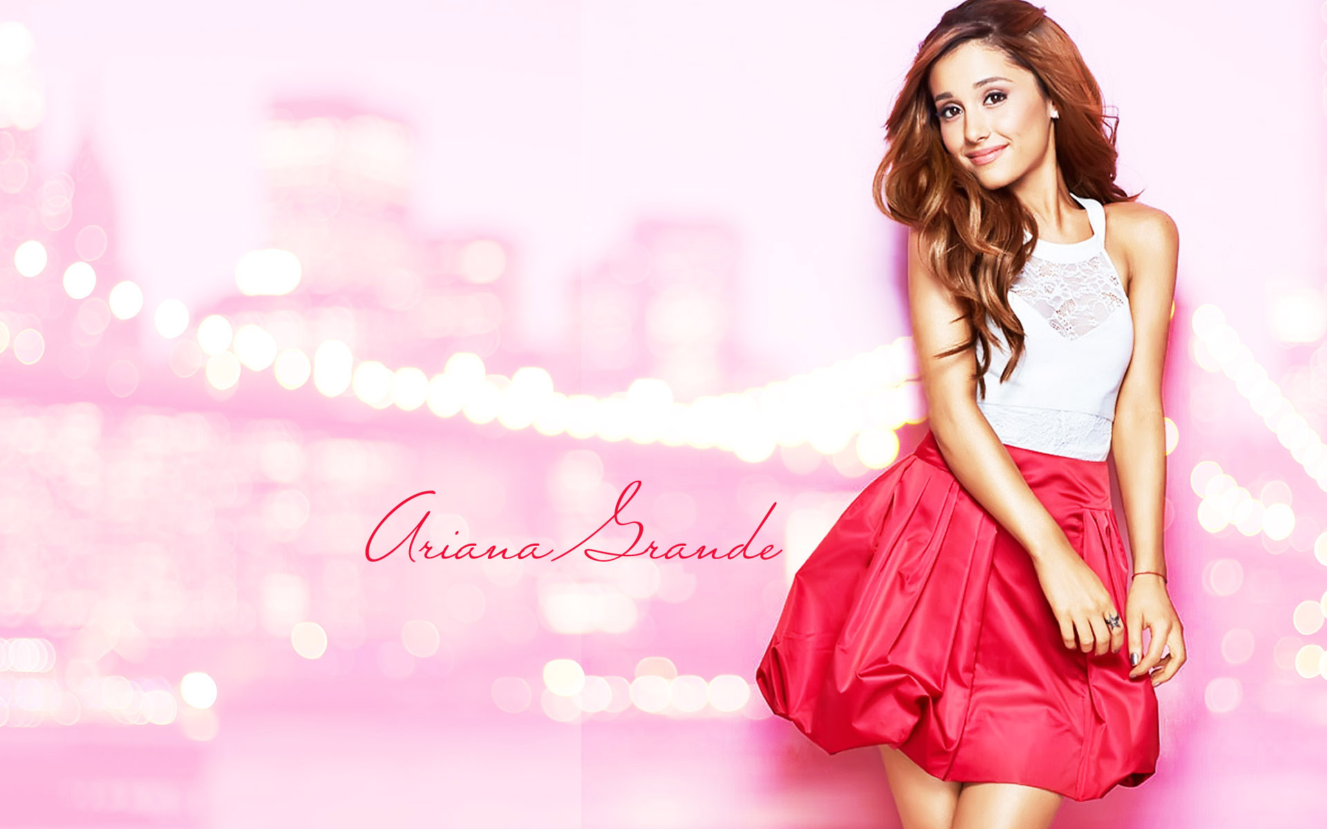 Ariana Grande HD desktop wallpapers - 250.9KB