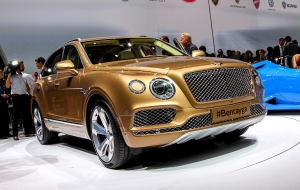 Bentley Bentayga 2016 Wallpapers