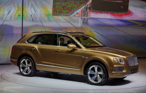 Bentley Bentayga 2016 Wallpaper