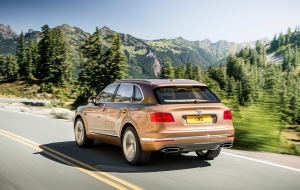 Bentley Bentayga 2016 Images