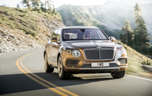 Bentley Bentayga 2016 Widescreen