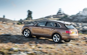 Bentley Bentayga 2016 HD Wallpaper