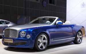 Bentley Grand Convertible Computer Wallpaper
