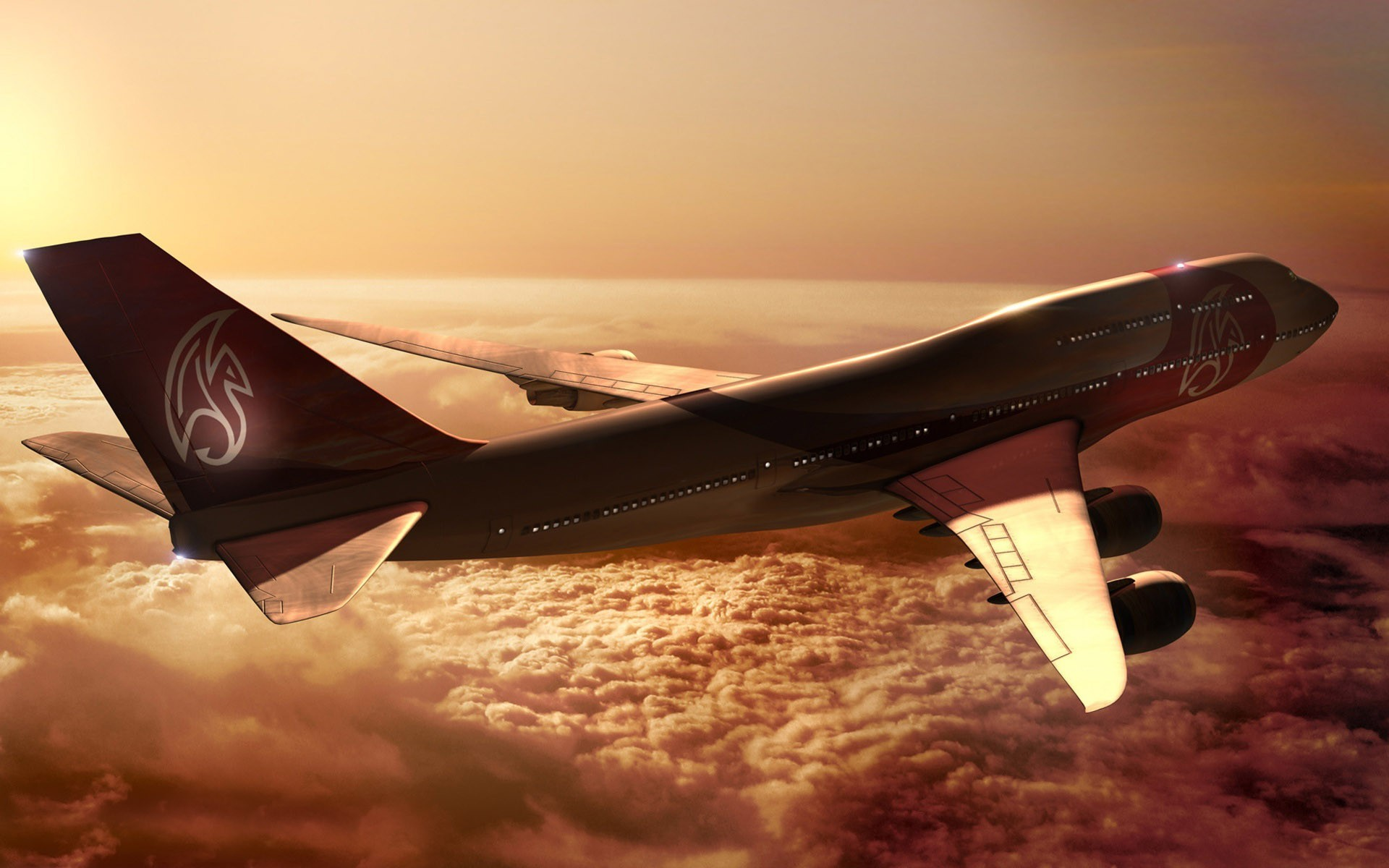 boeing 747 hd wallpapers free download