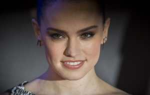 Daisy Ridley Star Wars: The Force Awakens European Premiere London