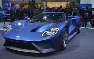 Ford GT 2016 HD Background