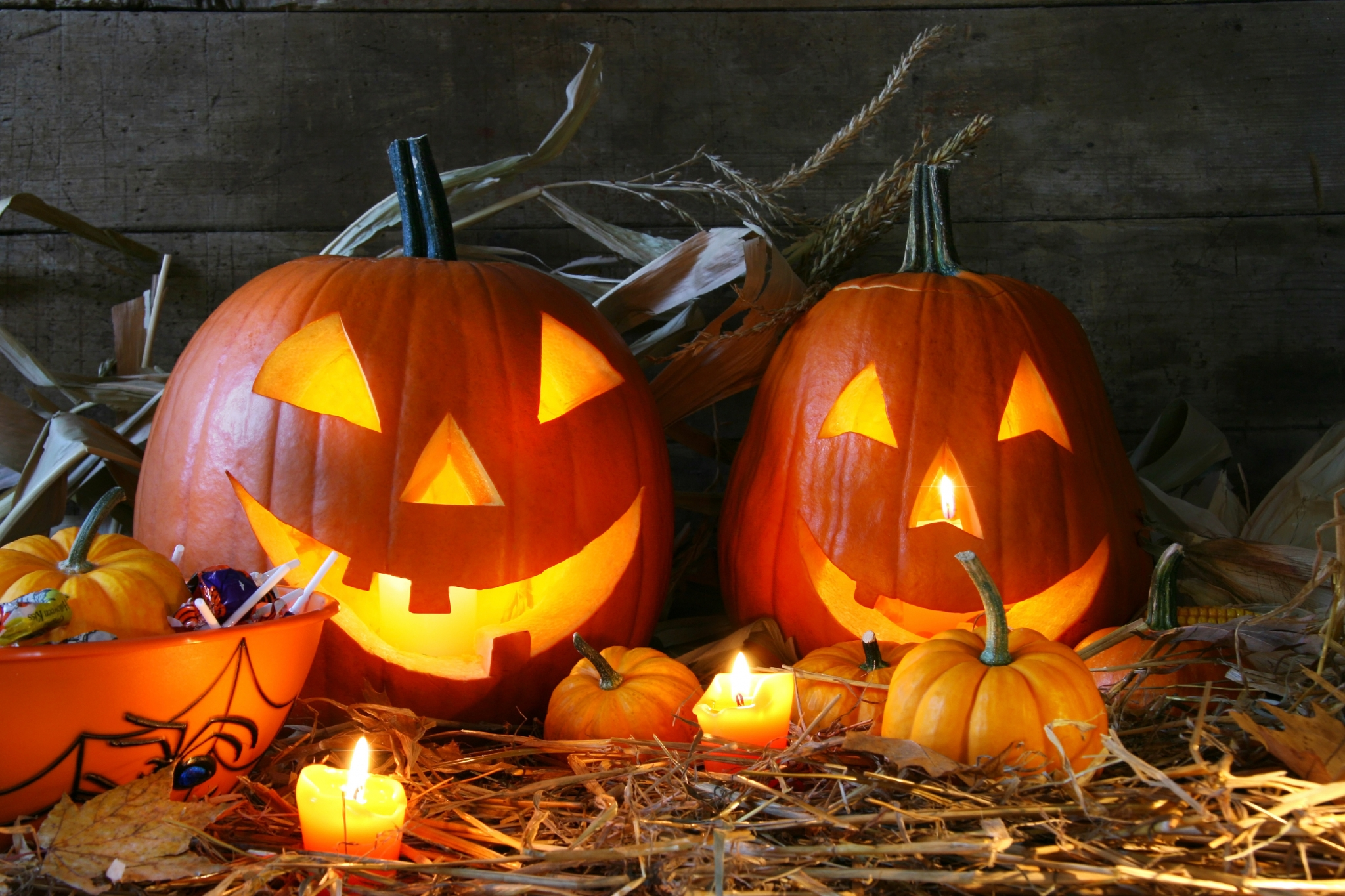 Helloween hd wallpapers free download - Calabazas decoradas para halloween ...
