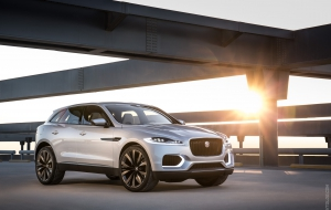 Jaguar F-Pace 2016 Background
