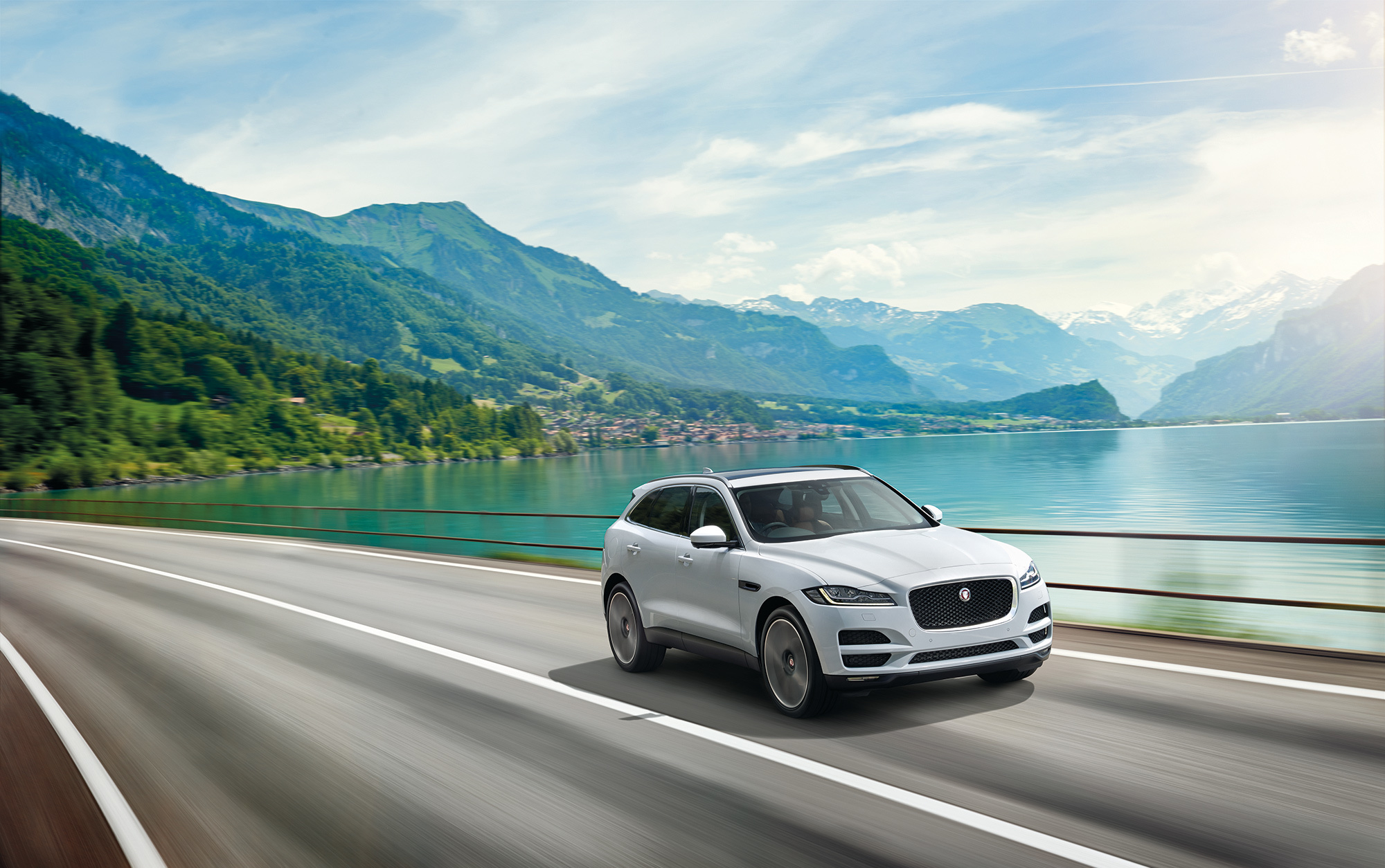 jaguar f-pace 2016 wallpapers high resolution and quality download