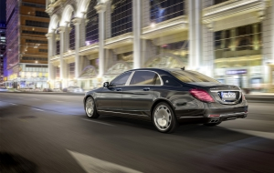 Mercedes-Maybach S600 Pics