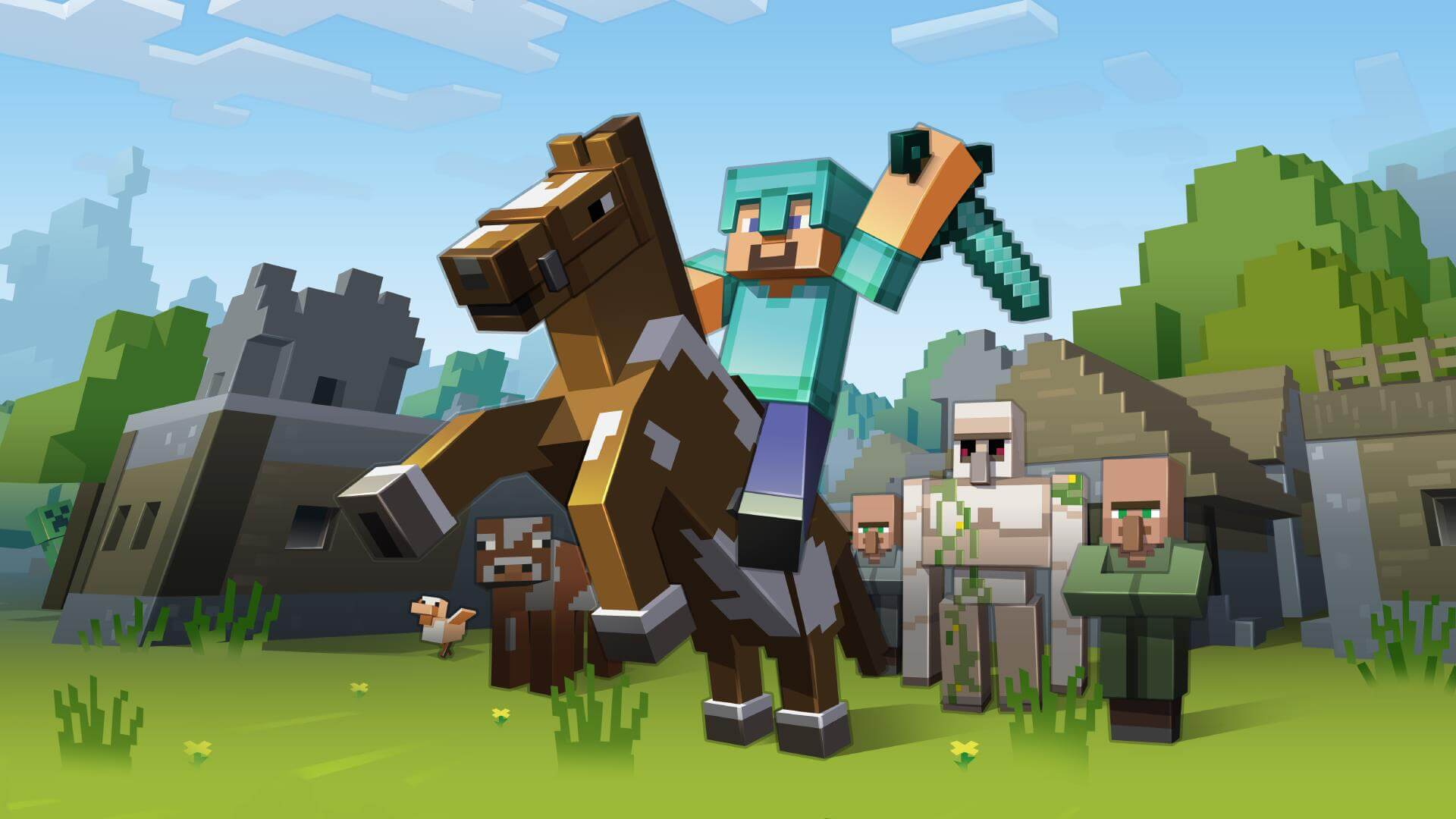 Minecraft: Story Mode HD wallpapers free download