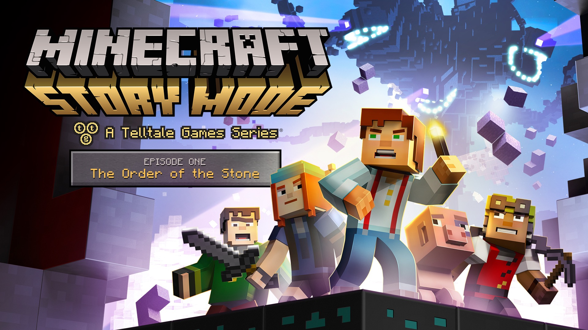 Minecraft story mode hd wallpapers free download - Minecraft story mode wallpaper ...