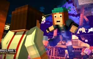 Pictures of Minecraft: Story Mode