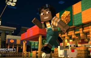 Minecraft: Story Mode HD Wallpaper