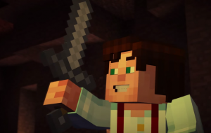 Minecraft: Story Mode Background