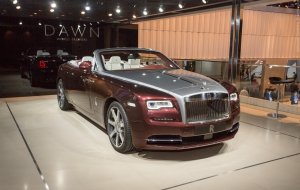 Rolls-Royce Dawn HD Wallpaper