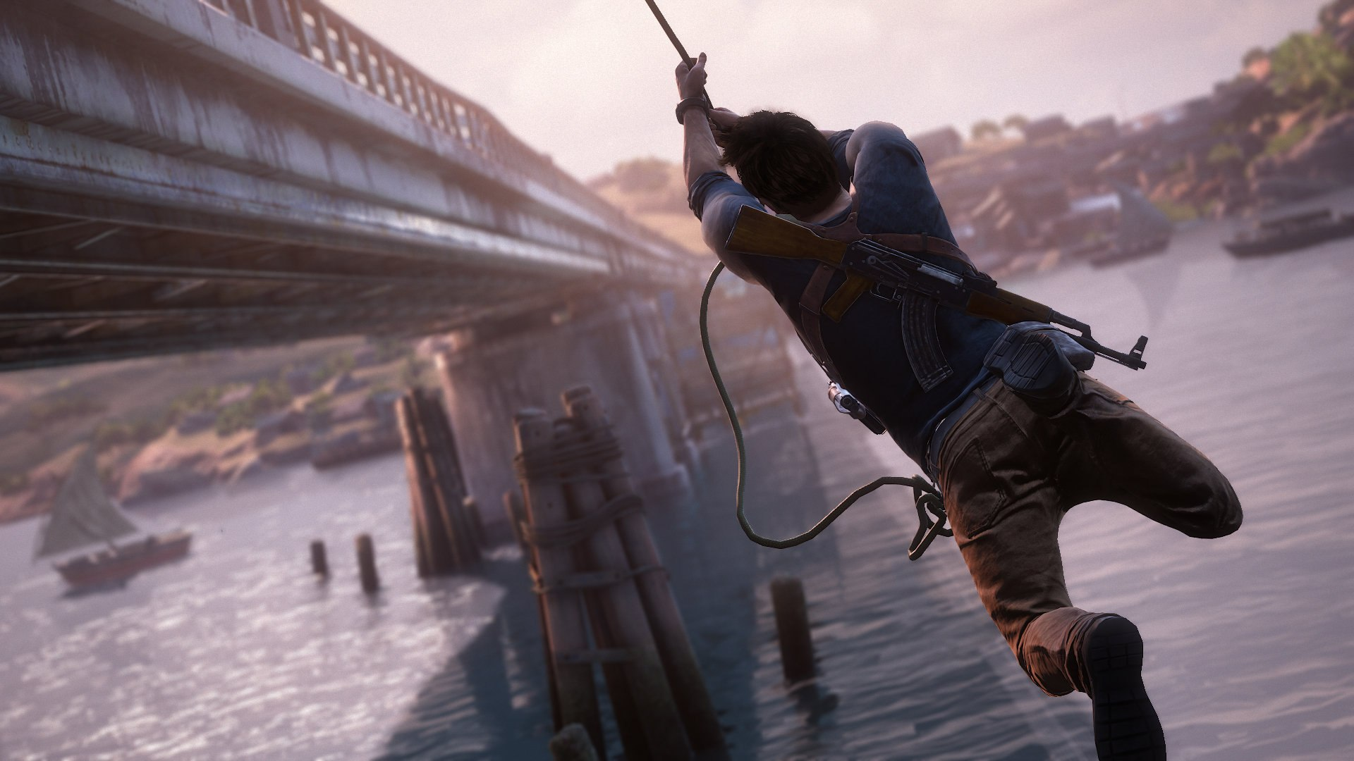 Uncharted 4 a thief 39 s end hd wallpapers and screens - Uncharted wallpaper ...