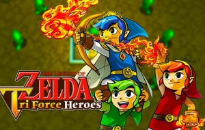 Zelda Tri Force Heroes games