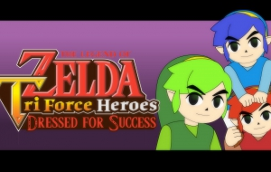 Zelda Tri Force Heroes Desktop