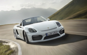 Porsche Boxster Spyder 2016 High Quality Wallpapers