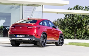 Mercedes-Benz GLE Coupe 2016 High Quality Wallpapers