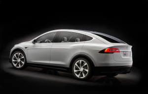 Tesla Model X HD Wallpaper