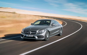 Mercedes-Benz C-class Coupe 2017 Computer Wallpaper