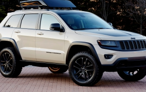 Jeep Grand Cherokee Trackhawk 2017 HD Wallpaper