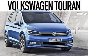 Volkswagen Touran 2016 HD Wallpaper