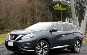 Nissan Murano 2015 HD Wallpaper