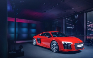 Audi R8 2015 HD Wallpaper