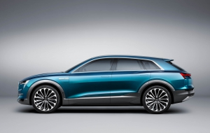 Audi Q6 e-tron quattro 2018 HD Wallpaper